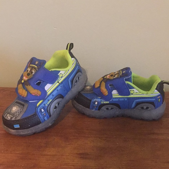 Shoes   Paw Patrol Light Up Shoes Boys